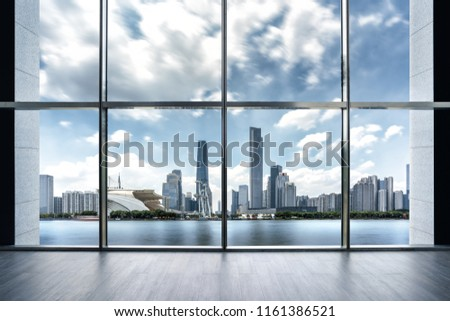 Guangzhou city scenery and indoor space #1161386521