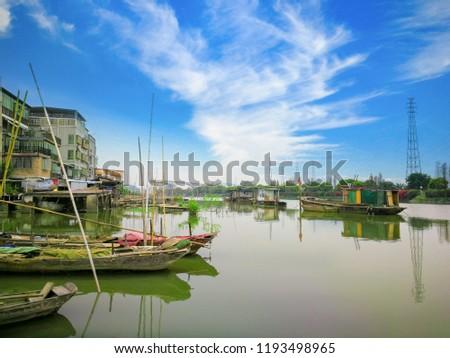 Guangzhou Huangpu ancient port #1193498965