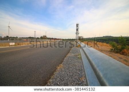 guard rail #381445132