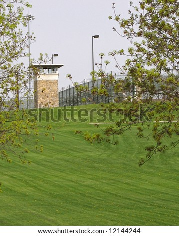 Guard tower at state prison