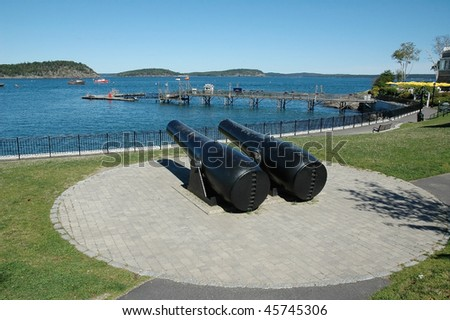 Guarded Entrance to Bar Harbor, Maine
