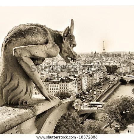 guards of old Paris