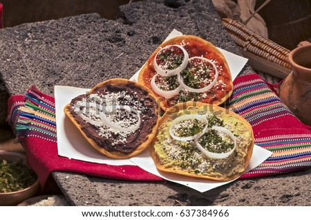 Shutterstock Guatemalan tostadas.