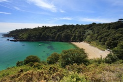 Guernsey Beach Fermain Bay Channel Islands