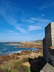 Guernsey Channel Islands, Albecq Bunker