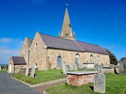 Guernsey Channel Islands, Castel Church