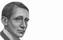 Guglielmo Marconi Portrait from Italian Banknotes.