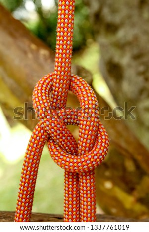 Guide rope rope knot #1337761019