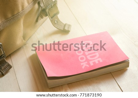 Guidebook or user manual