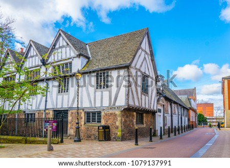 guild hall in leicester, England