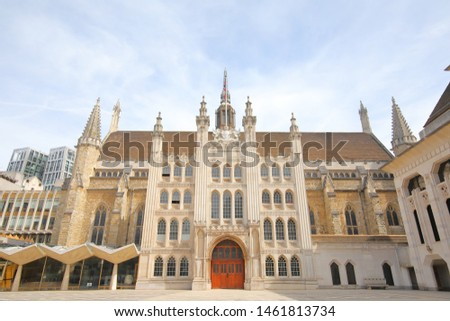 Guildhall historical building London UK