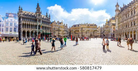 guildhalls on the grand place...