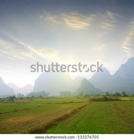 Guilin mountain