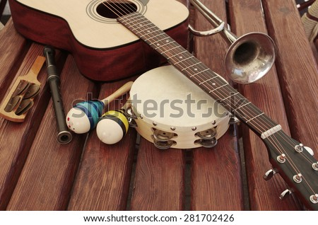 guitar and music instruments