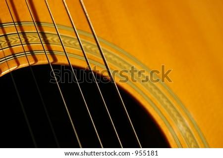 Guitar details for background