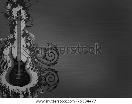Guitar Metallic Texture