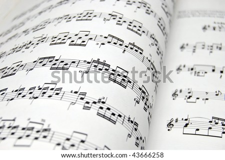 Guitar music sheets. Good file for musical backgrounds