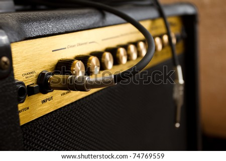 guitar's amplifier