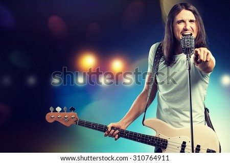 Guitarist.