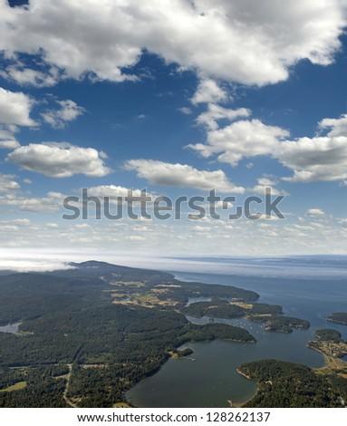 Gulf Islands in British Columbia, Canada