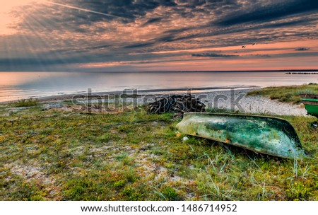 Gulf of Riga in Kurzeme coastal region is a beautiful territory where the history of traditional Latvian fisheries meets with marvelous scenic seascapes
