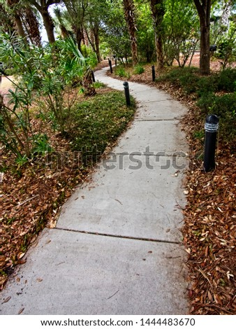 Gulf Shores, AL USA - 05/11/2019  -  Pathway in Gulf Shores AL 2 #1444483670