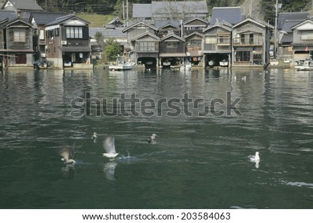 Gull And The Water House Of Ine