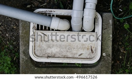Gully trap for household water waste