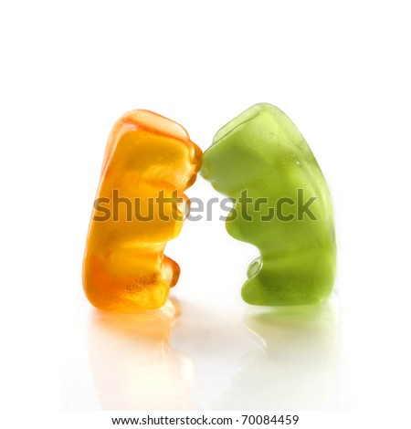 Gummy bear story series - Falling in Love