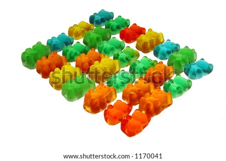 Gummy bears -look in profile for more