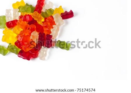 Gummy bears wallpaper.
