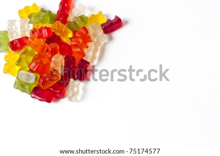 Gummy bears wallpaper.