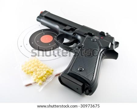 gun pistol practice set