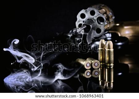 Gun Weapon Revolver Pistol Colt #1068963401