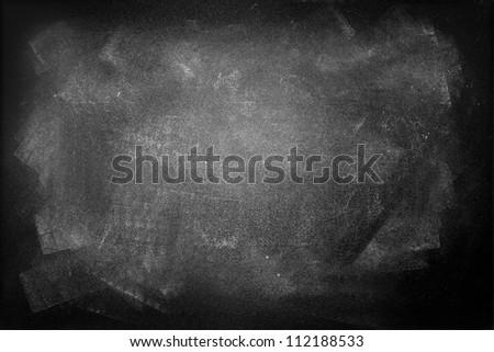 Gungy black board, copy space