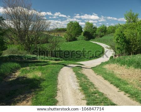 Guntramsdorf, Lower Austria: Country road