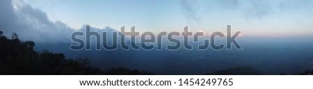 Gunung Datuk Summit in the morning #1454249765
