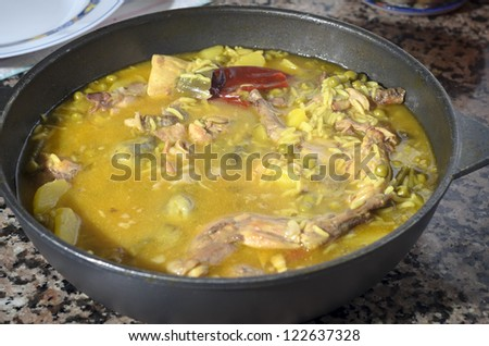 gurullos typical andalusian food