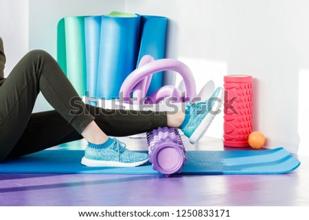 Gym for Pilates workouts and fitness #1250833171