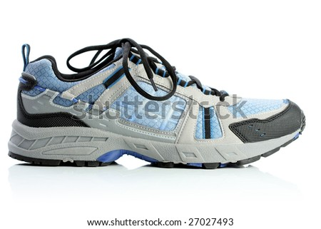 Gym shoe, isolated on white