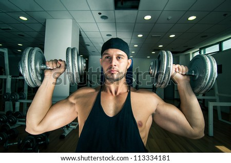 Gym training work-out