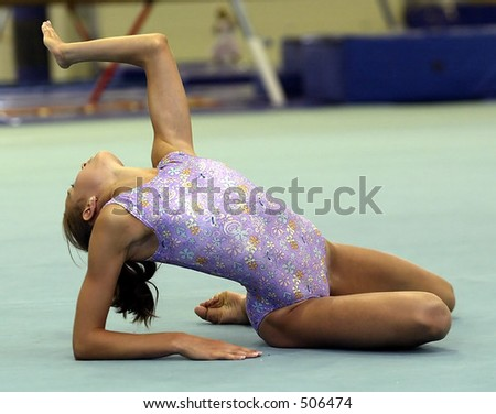 how to stand out in gymnastics on floor