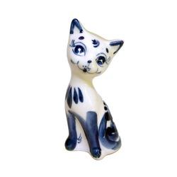 Gzhel Cat