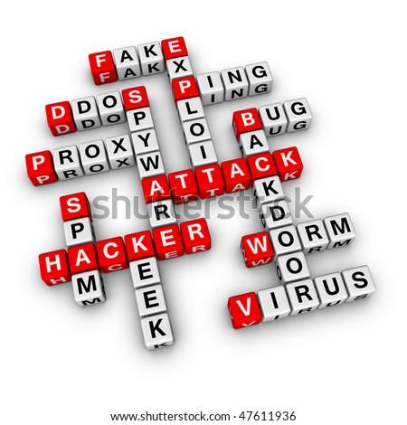 hacker attack (from crossword series)