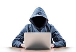 hacker on a laptop