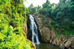 haew narok waterfall Khao yai national park