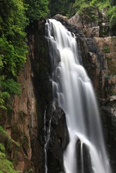 Haew Narok waterfall ,Khao Yai national park ,world heritage site ,Thailand
