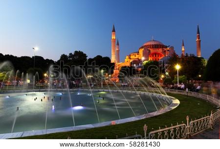 Hagia Sofia - Isntanbul, Turkey