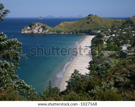 Hahei Beach New Zealand