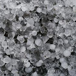 Hail stones, hailstorm frozen ice background